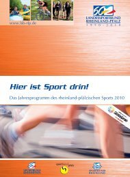 Mai - Landessportbund Rheinland-Pfalz