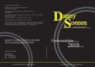 Eindejaarsfolder - traiteur Danny