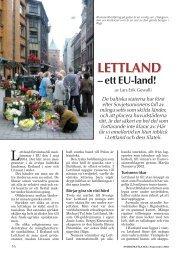 Lettland – Ett EU-land! - Nordisk Filateli