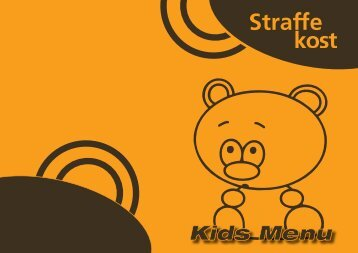 Kids Menu - Straffe Kost