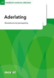 Aderlating - Mca