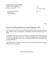 Undervisning 2007 - Folketingets Ombudsmand