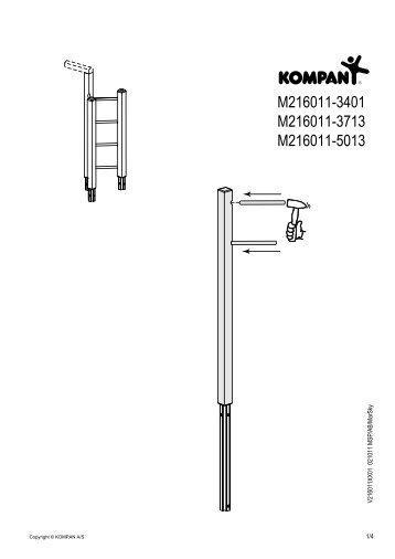 M216011-3401 M216011-3713 M216011-5013 - Kompan