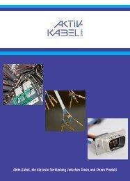 Download Unternehmensbroschüre - bei Aktiv-Kabel GmbH