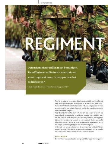 Defensieminister Hillen moet bezuinigen. Twaalfduizend militairen ...