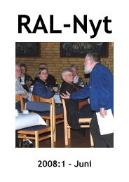RAL-Nyt 2008:1 - Juni - Ribe Amts Lokalarkiver