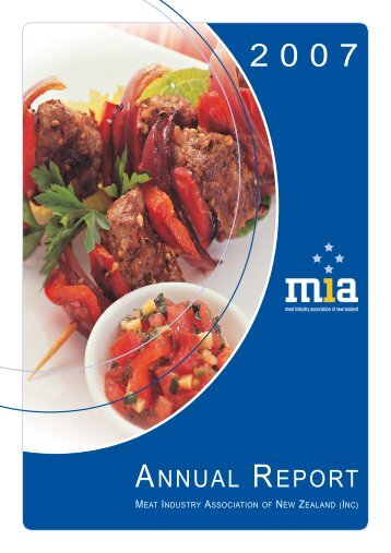 2006/07 Annual Report - Meat Industry Association of New Zealand