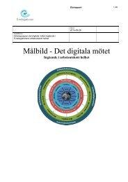 Rapport Målbild - Det digitala mötet (pdf, 1 MB) - E-delegationen