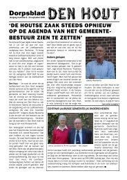 bestuur zien te zetten - Den Hout