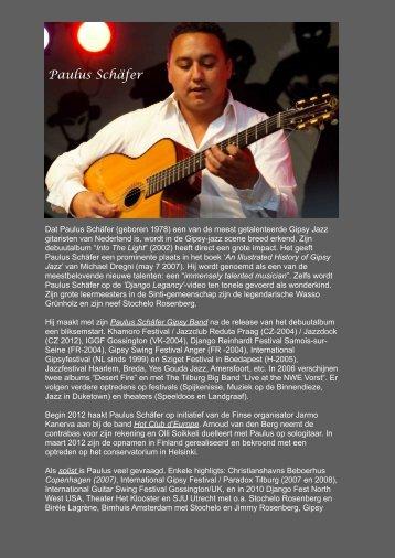 Download biography Paulus Schäfer