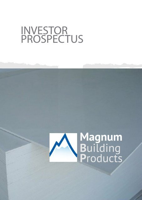 0VERVIEW Magnum Building Products