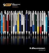 CATALOGUE 2009 - Bic Graphic