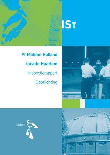PI Midden Holland locatie Haarlem - Inspectie Veiligheid en Justitie
