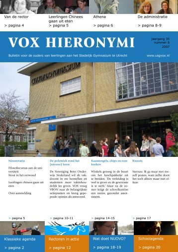 VOX April 2007 - USG Vox