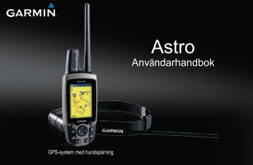 Garmin Astro 220 manual DC-30