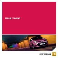 Brochure Renault Twingo - ABD Renault