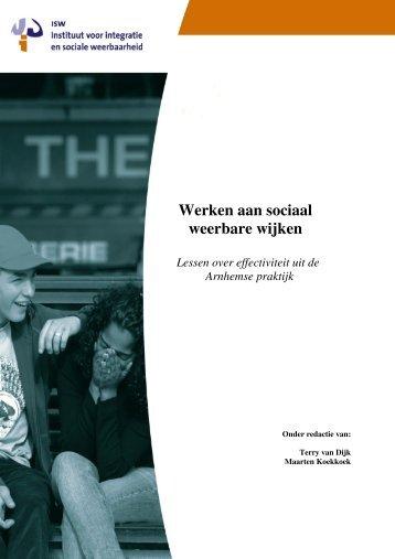 Werken aan sociaal weerbare wijken - Instituut ISW