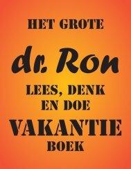 dr. Ron - Beter Onderwijs Nederland
