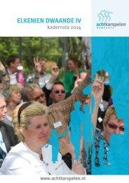 Kadernota 2014.pdf - Gemeente Achtkarspelen