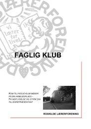 Faglig Klub - Roskilde Lærerforening