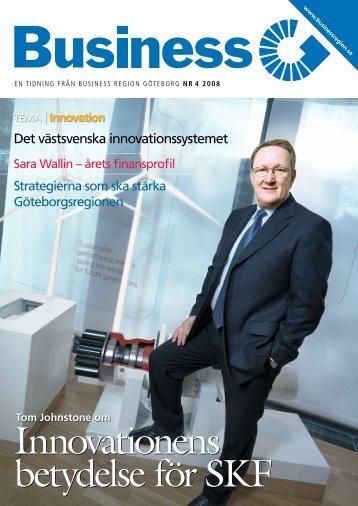 Innovationens betydelse för SKF Innovationens betydelse för SKF