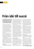 Innovationens betydelse för SKF Innovationens betydelse för SKF - Page 6