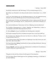 1. Januar bis 31. Dezember 2006 - Stadtmuseum Oldenburg