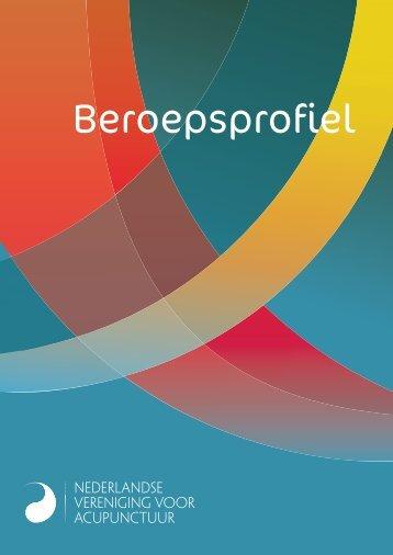 NVA Beroepsprofiel voor acupuncturisten - Nederlandse Vereniging ...