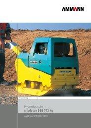 Download de Ammann 365 – 712kg (hydrostatisch ... - Infra Tools