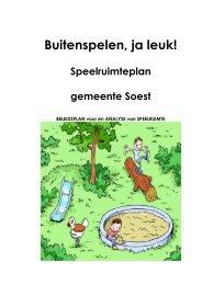 Speelruimteplan gemeente Soest - Vng