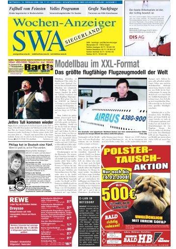 500€ 500€ - Siegerländer Wochen-Anzeiger
