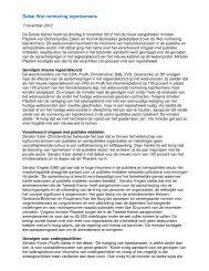 Debat wet normering topinkomens R. Plasterk - NVTK
