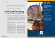 1% of 2% kosten om de eigen woning niet - Amkreutz & Donners ...
