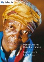 Människor som förändrar världen - Diakonia