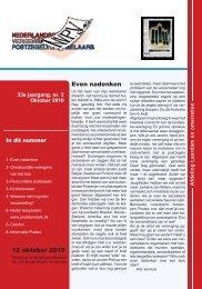 Lees hier het verenigingsblad van NVPV Afd ... - Postzegelblog