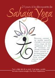 21 jours à la découverte de - Sahaja Yoga Switzerland