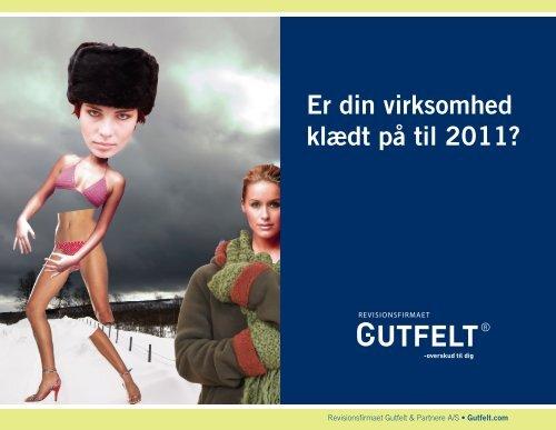 Er din virksomhed klædt på til 2011? - Gutfelt & Partnere A/S