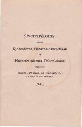 overenskomst år 1948 - Havnearbejdernes Klub af 1980