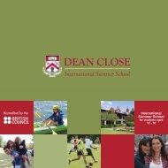 Brochure - Dean Close Summer School