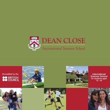 Brochure - Dean Close Summer School