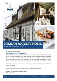 Eventkalender - Helnan International Hotels