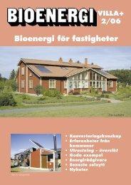 Villa+ Bioenergi för fastigheter - Novator