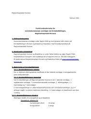 Regionshospitalet Horsens Februar 2010 Funktionsbeskrivelse for ...