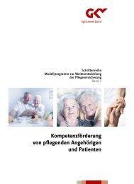 Kompetenzförderung von pflegenden Angehörigen ... - Pflegenoten