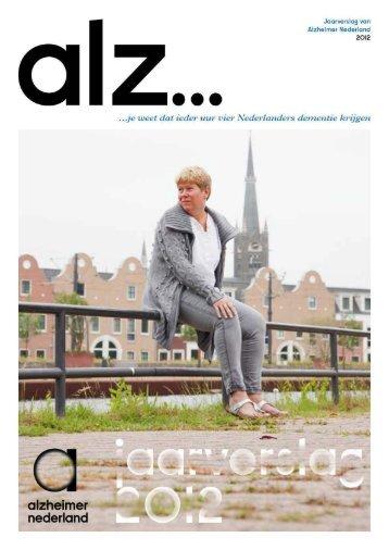 jaarverslag 2012 [PDF] - Alzheimer Nederland