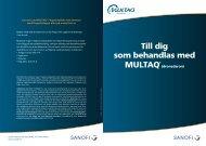 Till dig som behandlas med MULTAQ®