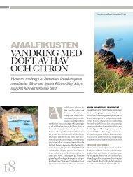 vandring med doFt av hav och citron - WI-Resor