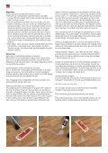 Kährs - Vedligeholdelse og reperation - Erhvervsgulve.dk - Page 5