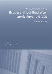 Botilbudsstatistik 2012 - Ankestyrelsen