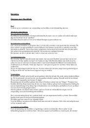 Richtlijn Omgaan met Hoofdluis - Zorgprotocollen